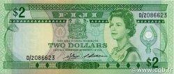 2 Dollars FIDJI  1983 P.082a NEUF