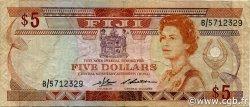 5 Dollars FIDJI  1983 P.083a TTB
