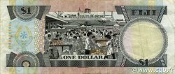 1 Dollar FIDJI  1987 P.086a TTB