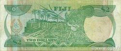 2 Dollars FIDJI  1988 P.087a pr.TTB