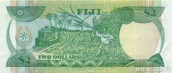 2 Dollars FIDJI  1988 P.087a SUP