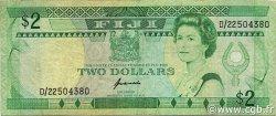 2 Dollars FIDJI  1995 P.090a TB