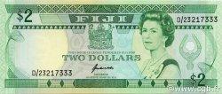 2 Dollars FIDJI  1995 P.090a pr.NEUF
