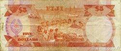 5 Dollars FIDJI  1991 P.091a TB