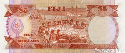 5 Dollars FIDJI  1991 P.091a SUP+