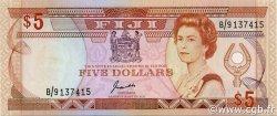 5 Dollars FIDJI  1991 P.091a NEUF