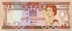 5 Dollars FIDJI  1992 P.093a pr.NEUF
