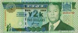 2 Dollars FIDJI  2000 P.102a NEUF