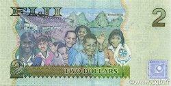 2 Dollars FIDJI  2007 P.109a NEUF