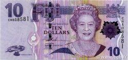 10 Dollars FIDJI  2007 P.111a NEUF