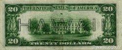 20 Dollars HAWAII  1934 P.41 TTB à SUP