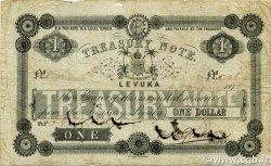 1 Dollar FIDJI  1873 P.014b TB+