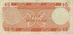5 Dollars FIDJI  1971 P.067a TTB