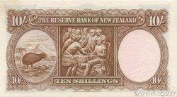 10 Shillings NOUVELLE-ZÉLANDE  1967 P.158d SPL