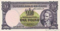 1 Pound NOUVELLE-ZÉLANDE  1967 P.159d NEUF