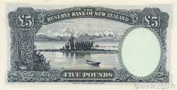 5 Pounds NOUVELLE-ZÉLANDE  1967 P.160c