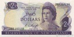 2 Dollars NOUVELLE-ZÉLANDE  1975 P.164c SPL