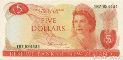 5 Dollars NOUVELLE-ZÉLANDE  1977 P.165d SPL