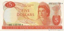 5 Dollars NOUVELLE-ZÉLANDE  1977 P.165d* NEUF