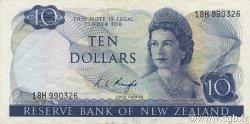 10 Dollars NOUVELLE-ZÉLANDE  1975 P.166c TTB+