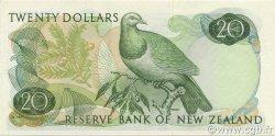 20 Dollars NOUVELLE-ZÉLANDE  1977 P.167d* NEUF