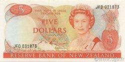 5 Dollars NOUVELLE-ZÉLANDE  1985 P.171b NEUF