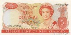 5 Dollars NOUVELLE-ZÉLANDE  1988 P.171c NEUF