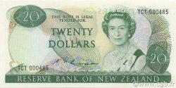 20 Dollars NOUVELLE-ZÉLANDE  1985 P.173b NEUF
