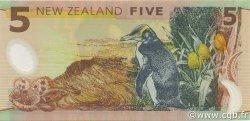 5 Dollars NOUVELLE-ZÉLANDE  1999 P.185 pr.NEUF