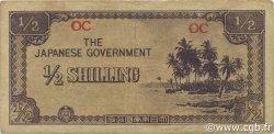 1/2 Shilling OCÉANIE  1942 P.01a TTB