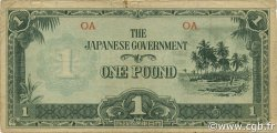 1 Pound OCÉANIE  1942 P.04a TB