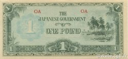 1 Pound OCÉANIE  1942 P.04a NEUF