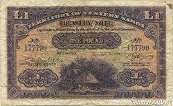 1 Pound SAMOA  1953 P.08Aa pr.TB