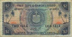 2 Tala SAMOA  1967 P.17a TB à TTB