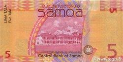 5 Tala SAMOA  2008 P.38 NEUF