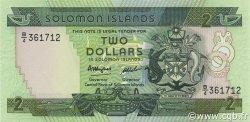 2 Dollars ÎLES SALOMON  1986 P.13a NEUF