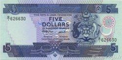 5 Dollars ÎLES SALOMON  1986 P.14a NEUF