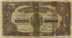 4 Shillings TONGA  1939 P.05b AB