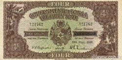 4 Shillings TONGA  1939 P.05b TTB+