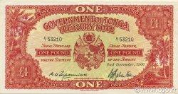 1 Pound TONGA  1966 P.11e pr.NEUF