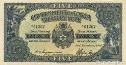 5 Pounds TONGA  1966 P.12d pr.SPL