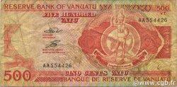 500 Vatu VANUATU  1993 P.05 TB