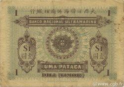 1 Pataca TIMOR  1910 P.01 TTB