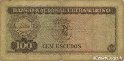 100 Escudos TIMOR  1959 P.24a B+