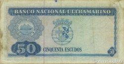 50 Escudos TIMOR  1967 P.27a TB+