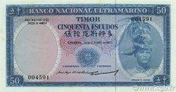 50 Escudos TIMOR  1967 P.27a pr.NEUF