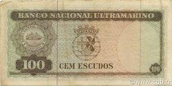 100 Escudos TIMOR  1963 P.28a TTB