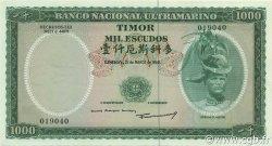 1000 Escudos TIMOR  1963 P.30a pr.NEUF