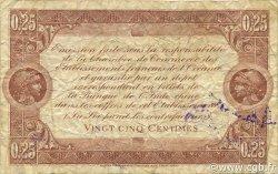 25 Centimes OCÉANIE  1919 P.01b TB