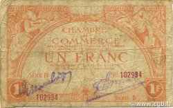 1 Franc OCÉANIE  1919 P.03b B